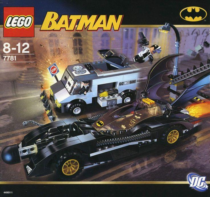 BEST Sale Gift LEGO 7781 The Batmobile TwoFace's Escape