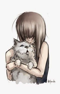 Pinterest BLACK: Lioni and Kitty