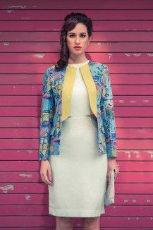 Retro Printed Jacket  Rs. 7,999