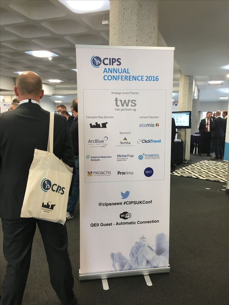 blur Group was pleased to  to be sponsoring CIPS (Chartered Institute of Procurement & Supply) Annual Conference in London last 20th October 2016