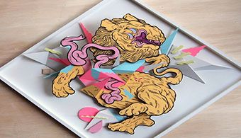 Creative 3 Dimensional Paintings by Boy Kong