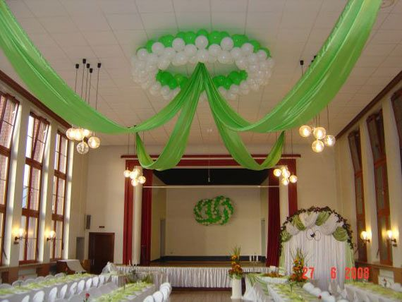 1000 ideas about balloon ceiling decorations on