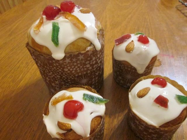 Pan dulce navideño sin gluten