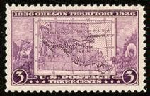 """1936 Oregon Territory 3 Cent Stamp (#783) . $0.50. 1936 """"Oregon Territory"""" 3 Cent Stamp #783."""