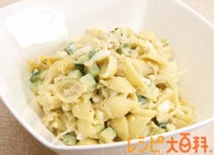 マカロニ レシピ|ツナとマカロニのサラダ|レシピ大百科