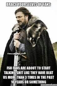 Florida Gators vs FSU