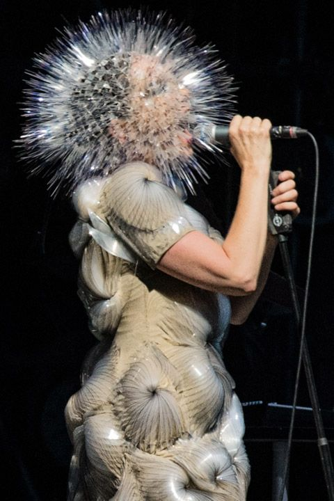 Bjork performing at Bonnaroo 2013