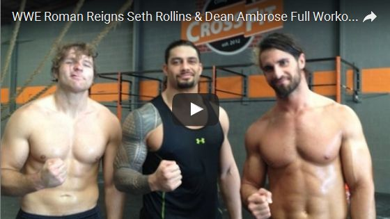 WWE Roman Reigns Seth Rollins & Dean Ambrose Full Workout | The Shield's Workout | Motivational