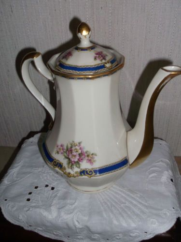 Antike Kaffeekanne, H&C,Schlaggenwald | eBay