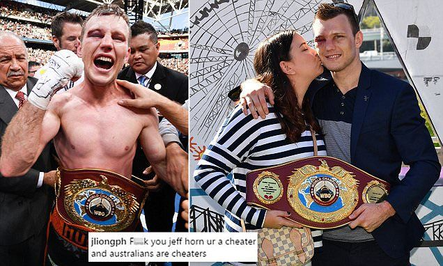 Manny Pacquiao fans target Jeff Horn and his wife on social media -   Enraged  Manny Pacquiao  fans are targeting his opponent, Jeff Horn, on social media after their hero  lost his title fight.   Not even his wife, Jo... See more at https://www.icetrend.com/manny-pacquiao-fans-target-jeff-horn-and-his-wife-on-social-media/