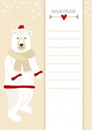 5b3a858e7 Dopis Ježíškovi - náhled 5 | Kids activity | Holiday, Activities for ...