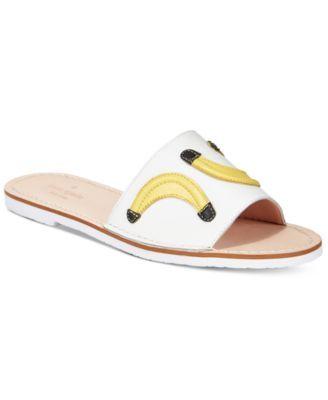 kate spade new york Ivone Banana Slide Sandals