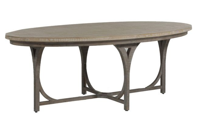 Shannon Oval Dining Table Oval Table Dining Transitional Dining