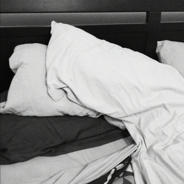 #photoadayjune Day 21 - Where you slept.