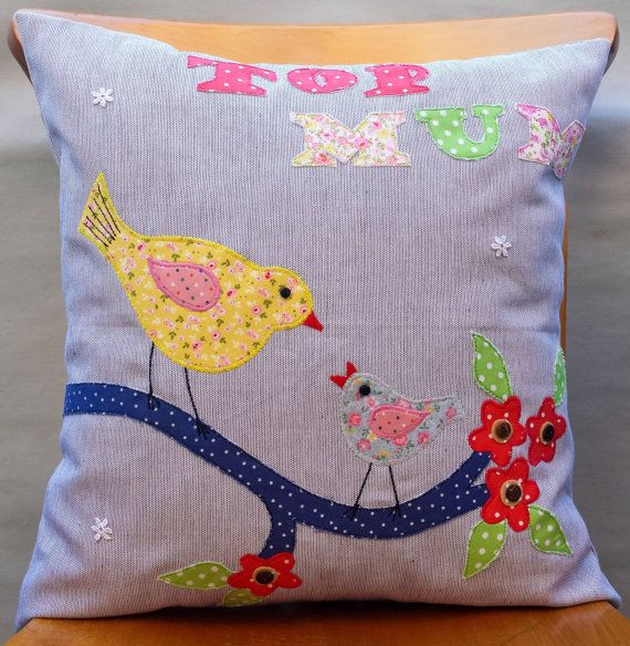 Pillow Cushion cover Birthday Gift for Mum Unique by FullColour, £13.95