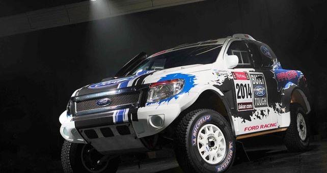 El Team Ford Racing ha confirmado que alineará dos Ford Ranger construidos en Sudáfrica en Dakar 2014 que se disputará entre el 5 y el 18 de enero en América del sur.