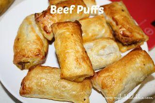 My Hobbie Lobbie: Beef Puffs