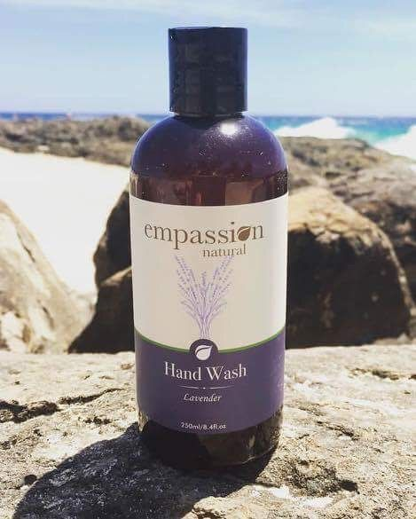 Our new Lavender Hand Wash is divine!  Pure essential lavender oil in a hand wash that leaves your hands soft, silky and clean and at $9.95 for 250ml you can't go wrong!!  Link in bio or  https://empassion.com.au/natural/glow/   #naturalhandwash #handwash #madeinaustralia #naturalskincare #workfromhome #homebasedbusiness #naturalisbest #affordableluxury #youdeserveit #naturalproducts