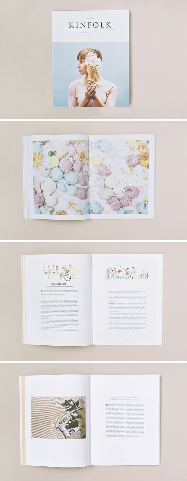 Kinfolk magazine 7 - icecream