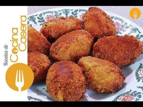 Croquetas de merluza - Recetas de Cocina Casera - Recetas fáciles y sencillas