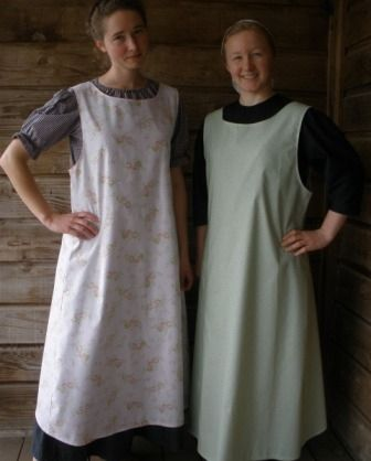 Pinafore Apron Ladies Large - must make this!!!! Perfect for co-op teaching