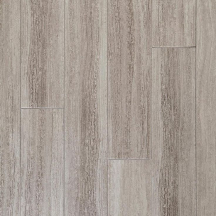 Awesome Laminate Flooring Idea For Bathrooms And Kitchen NuCore Gray Tile Plank  With Cork Back   6.5