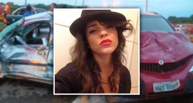 Adrielle Bezerra era estudante de Medicina. A universitária morreu após perder a direção do seu carro e colidir com outro. O corpo será velado e enterrado na cidade de Imperatriz