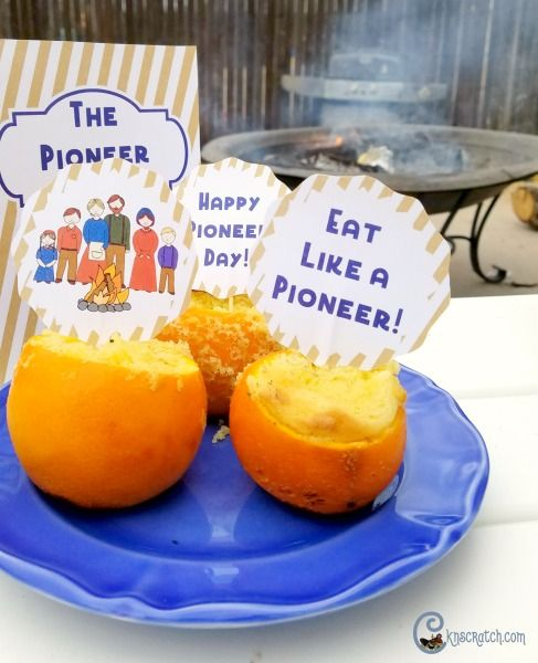 Eat like a pioneer- fun toppers and menu