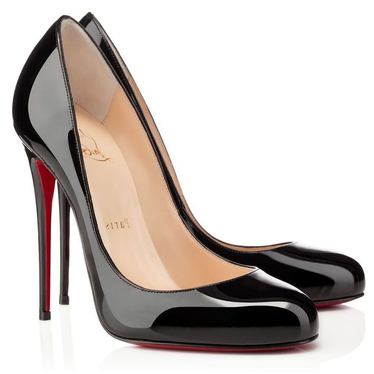 Christian Louboutin Fifi 120mm Patent Leather Pumps Black