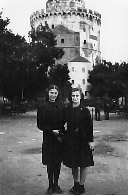 Αναμνηστική φωτογραφία - Λευκός Πύργος καμουφλαρισμένος