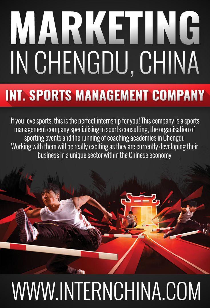 11 best china internships images on pinterest alternative book international sports management company ref fandeluxe Gallery