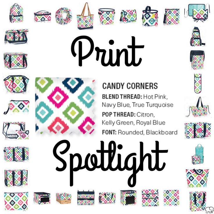 Print Spotlight for Spring/Summer 2017 Thirty-One - Candy Corners #newcatalog www.mythirtyone.com/lizaknopp
