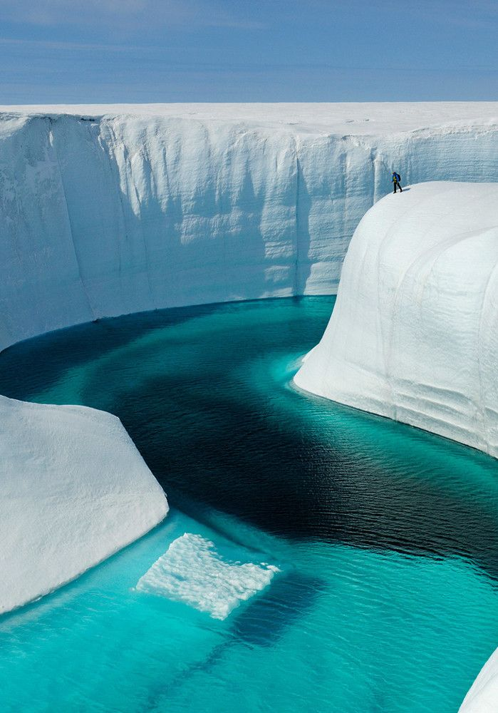 Simply stunning shot of Birthday Canyon in Greenland