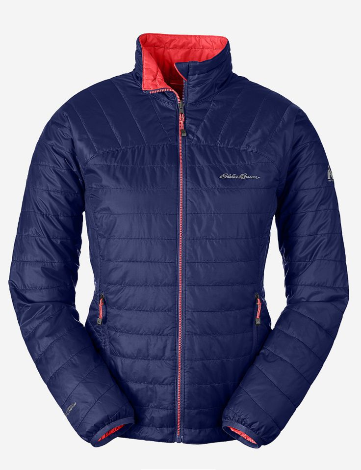 The IgniteLite Reversible Jacket is two superior, ultralight performers in  one. PrimaLoft® Gold