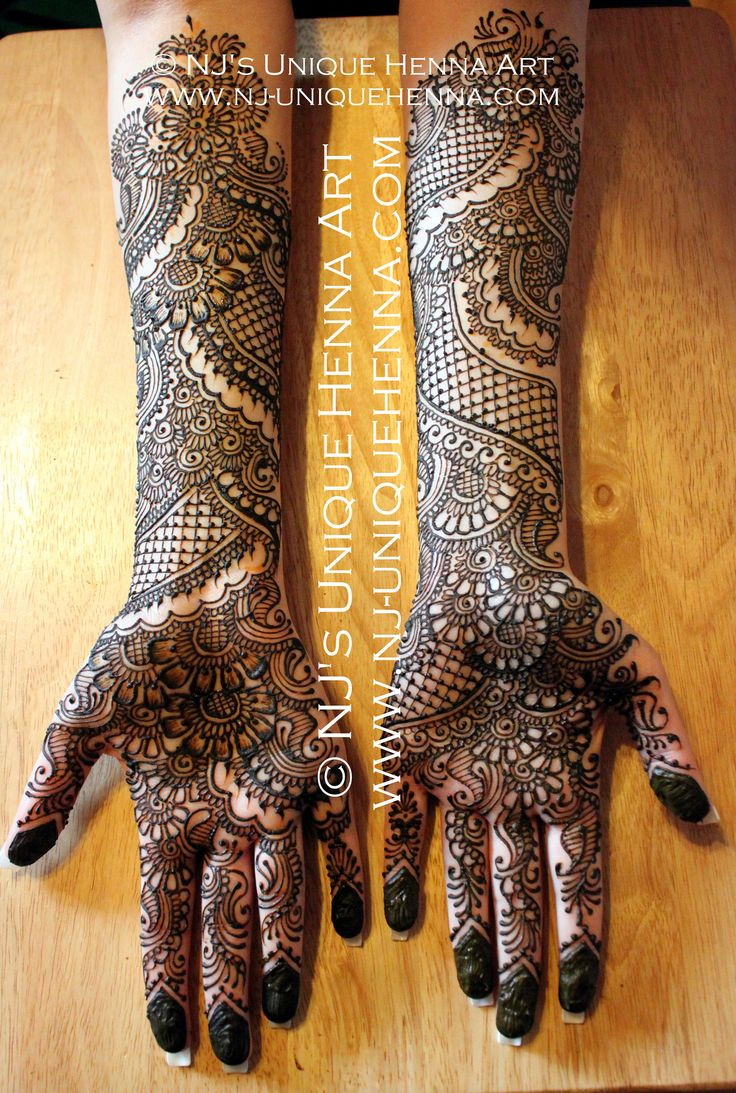 Nada's bridal henna 2013 © NJ's Unique Henna Art | Flickr - Photo Sharing!