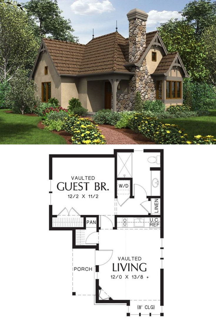 27 Adorable Free Tiny House Floor Plans Cottage House