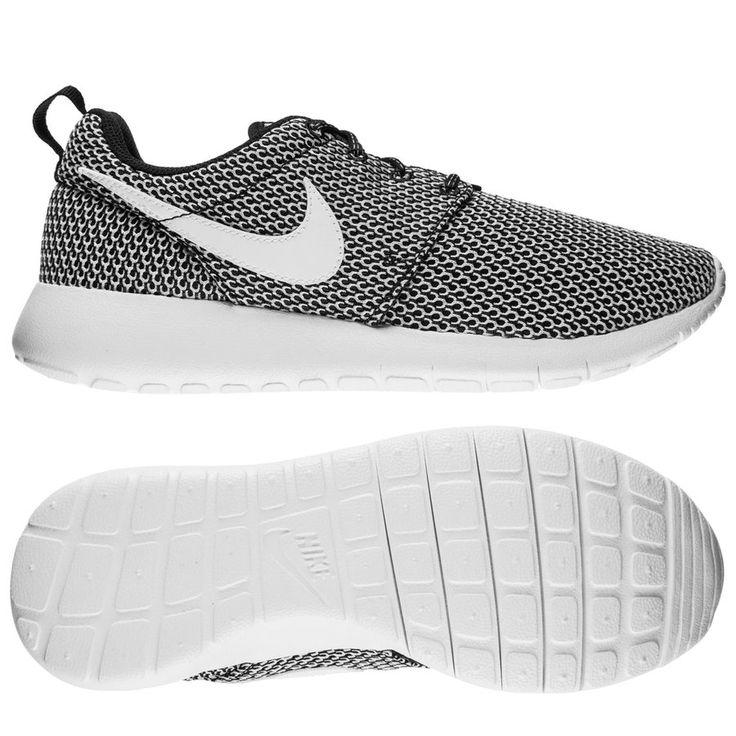 Nike Roshe One - Zwart/Wit Kinderen