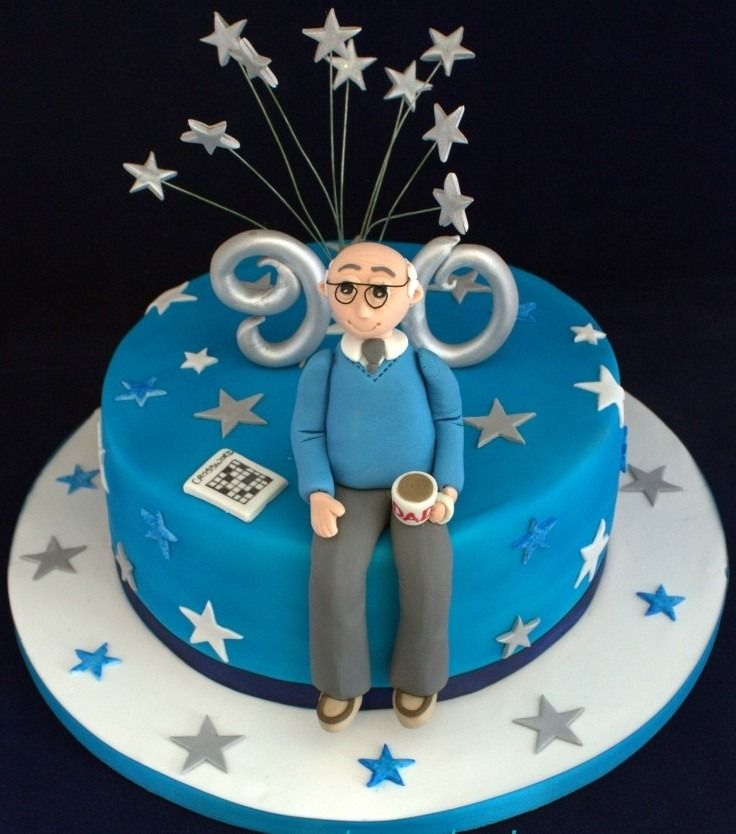 como hacer adornos para tortas de cumpleaños para adultos - Buscar con Google