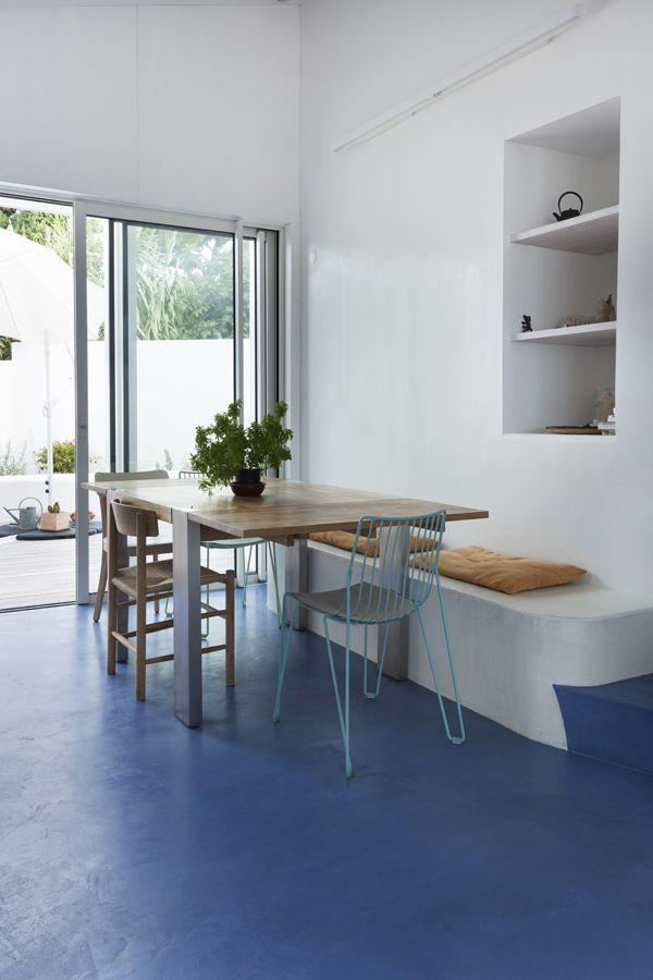 Marseille, maison bleue   Marius Aurenti