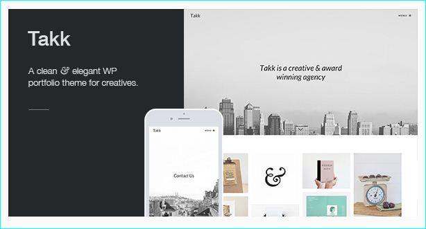 30 WordPress Portfolio Themes