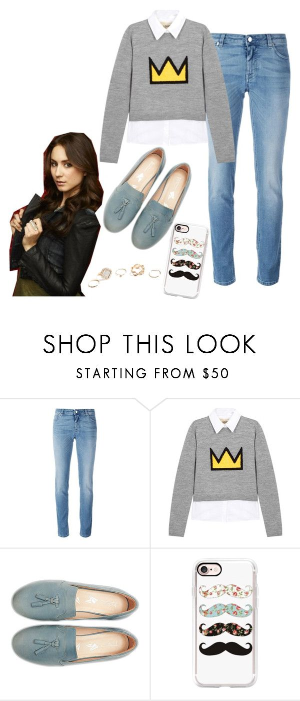 """Spencer Hastings"" by hazeldazzle ❤ liked on Polyvore featuring Givenchy, Alice + Olivia, Casetify and GUESS"