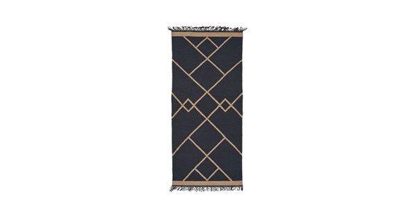 Smilla gångmatta - blue - Vävda mattor – Möbler från Svenssons i Lammhult