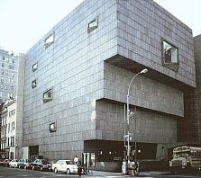 Whitney Museum of American Art, by Marcel Breuer, 1966, New York City.