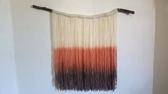 Hey, I found this really awesome Etsy listing at https://www.etsy.com/ca/listing/545964139/handmade-tapestry-fibre-art-dip-dye-wall