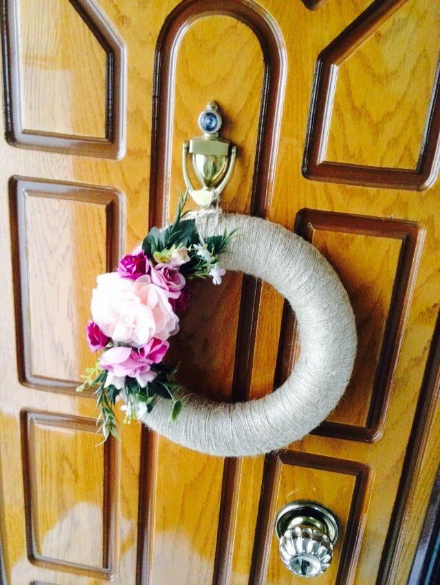 Dış kapı süsleri :)