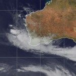 Short-lived Tropical Cyclone Victoria is now tropical low or tropical depression and it has almost fully dissipated under the steadily increasing vertical wind shear associated with an approaching deep-layered trough and its interaction with a subtropical high over Australia.