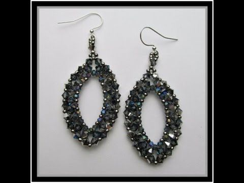 Raining on Prom Night earrings--Off the Beaded Path--You Tube