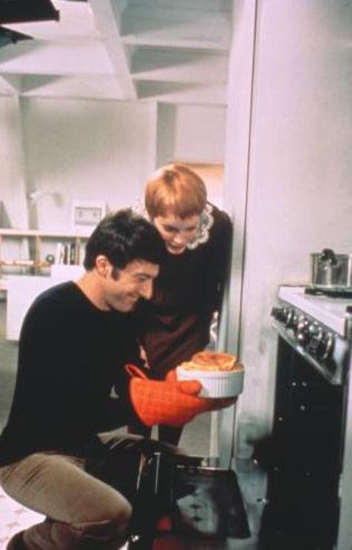 Mia Farrow Dustin Hoffman : John and Marry. Cheese souffle. ❤