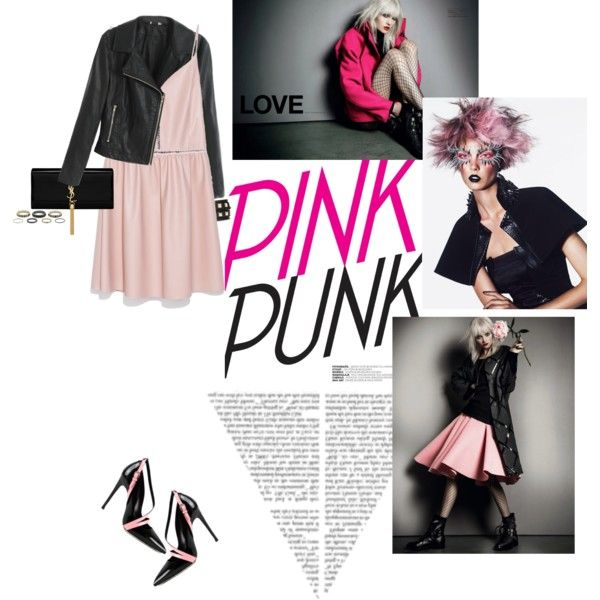 """""""Pink Punk"""" by federica-m on Polyvore"""