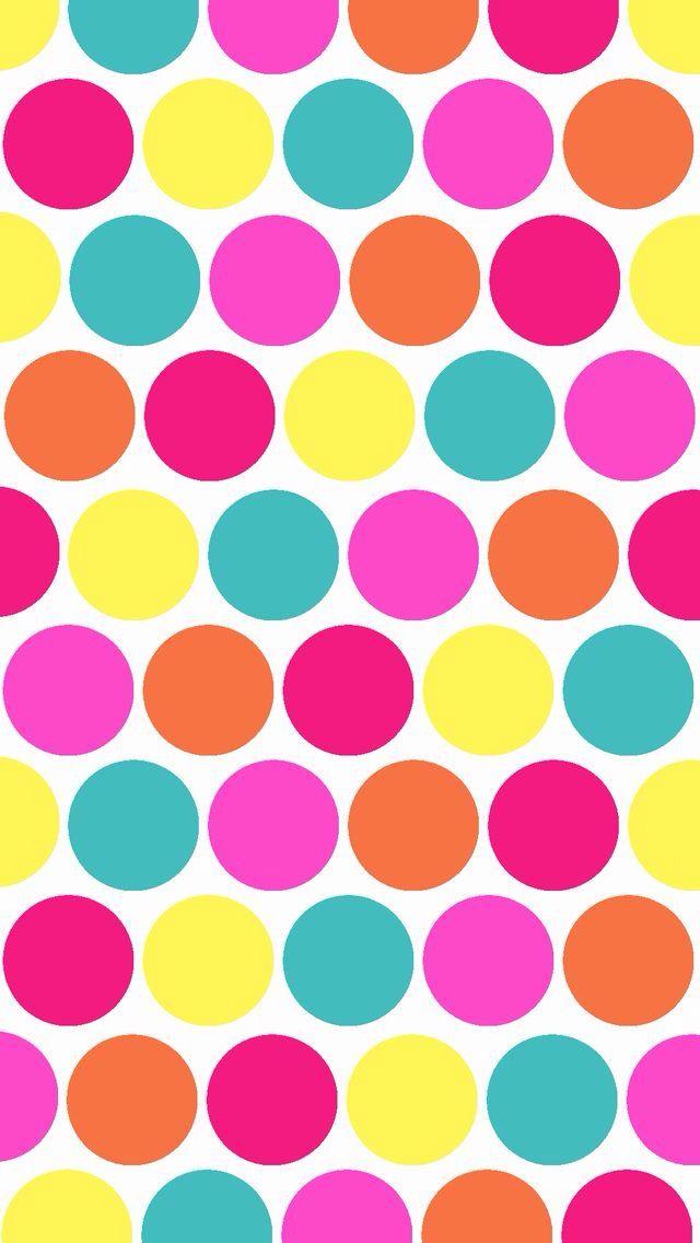 Puntitos Colores Papel Decorativo